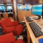 Internet cafe on the Stena Line ferry, the Hollandica