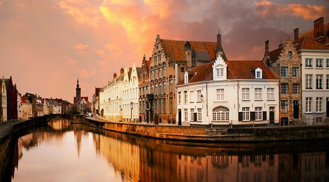 picture of the city of Bruges