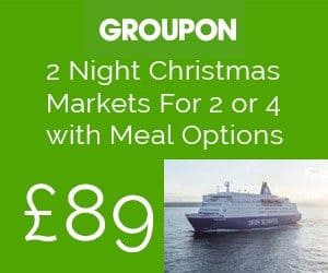 dfds groupon offer